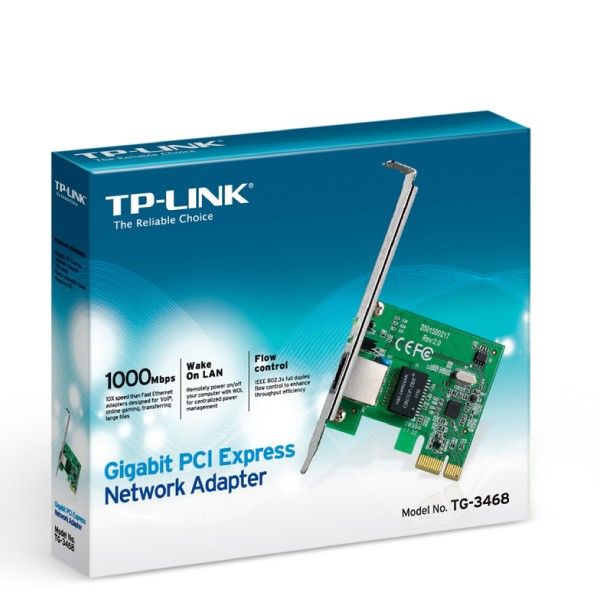 Gigabit PCI Express Network Adapter TG-3468