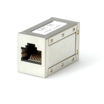 RJ45 Cat5e Coupler (Metal)
