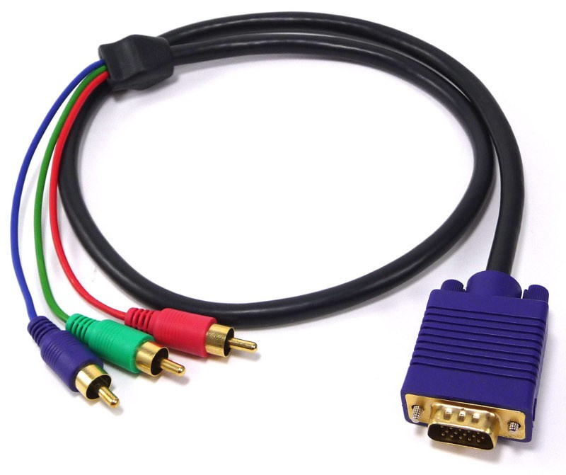VGA TO 3 X RCA RGB CABLE