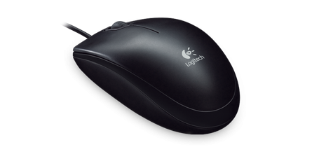 Logitech B100 Black USB Optical Mouse