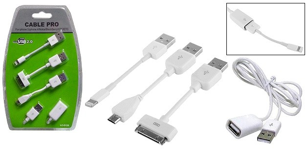 4-in-1 Multifunctional Cable