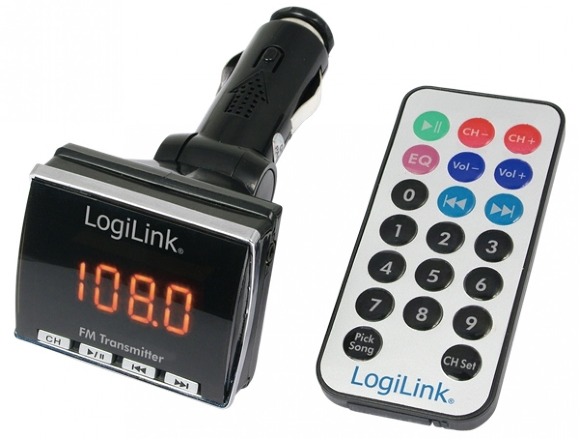 LogiLink® FM Transmitter with MP3 Player