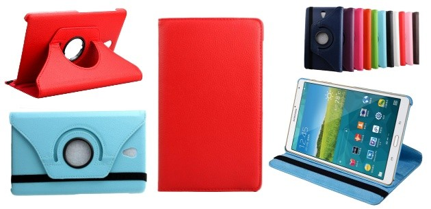 "Samsung Galaxy Tab® S 8.4"" 360˚ Rotating Leather Cover"