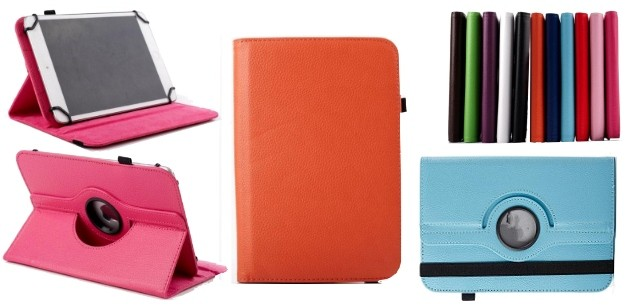 """Tablet 7"""" Universal Leather Cover"""