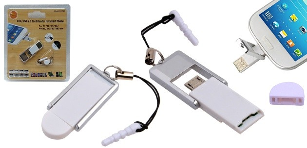 MICRO USB OTG CARD READER