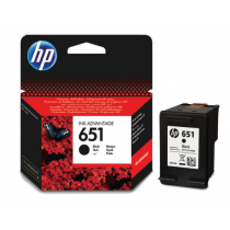 HP 651 Black Cartridge  (C2P10AE)