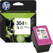 HP 304XL Tri-color Original Ink Cartridge (N9K07AE)