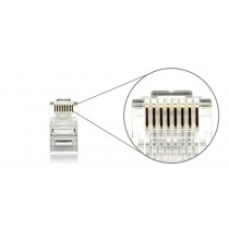 RJ45 Cat6  Gold plated connector