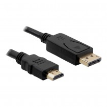 DisplayPort to HDMI 3m | Black