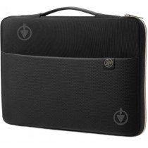 "HP 43.94 cm (17.3"") Carry Sleeve Black/Gold"