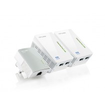 TP-Link AV600 Powerline 300Mbps Wi-Fi Adapter Triple Kit