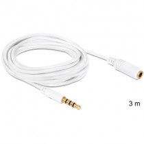 Delock Extension Cable Audio Stereo Jack 3.5 mm male / female