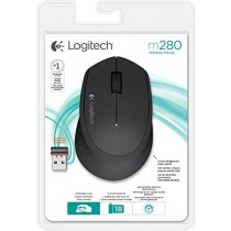 Logitech M280 Wireless Optical USB Mouse Black