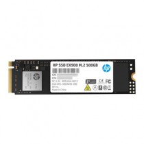 HP SATA M.2 internal SSD 2280 drive 500 GB EX900 Retail PCIe 3.0 x4
