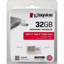 Kingston 32GB DataTraveler microDuo 3C - USB 3.0/3.1 + Type-C