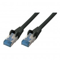 0.25m CAT6 patch cable S/FTP, Black