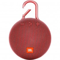 JBL Clip3 Waterproof Wireless Bluetooth Portable Red