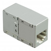 Modular coupler RJ45 Cat 6 shielded