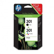 HP 301 BLK + CLR Combo Pack (N9J72AE)