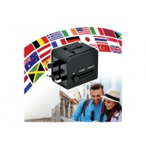 Port Designs WORLD TRAVEL ADAPTER 2x USB