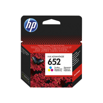 HP 652 Colour Cartridge (F6V24AE)