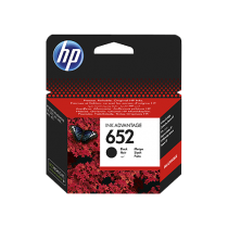 HP 652 Black Cartridge (F6V25AE)