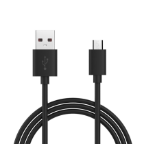 USB A Plug to USB-B Micro 1M (Black)