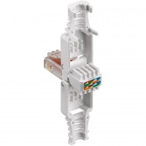 Tool-free RJ45 network connector / CAT 6 UTP - max. Cable diameter: 5.7mm