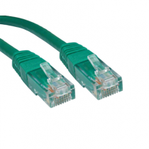 1M CAT6 UTP CABLE GREEN