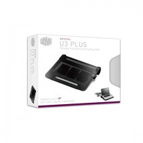 Cooler Master NotePal U3 Plus notebook cooling pad up to 19""
