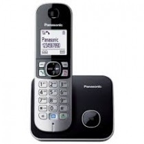 Panasonic KX-TG6811JTB Silver/Black Dect Cordless Phone w/Caller ID and Handsfree