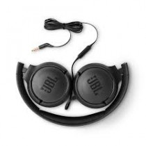 TUNE 500 BLACK WIRED ON-EAR HEADPHONES JBL