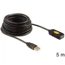 Delock Cable USB 2.0 Extension, active 5 m