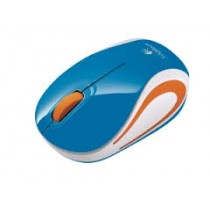 Logitech Wireless Mini Mouse M187 (Blue)