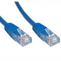 0.5M BLUE CAT6 UTP CABLE