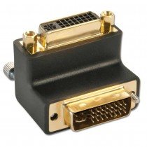 Adapter Right Angle (90°) DVI Male to Female