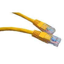 1M CAT6 UTP CABLE YELLOW