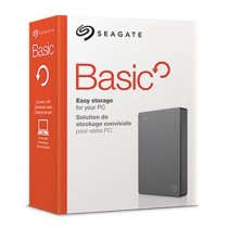 Seagate External Hard Drive 1tb USB 3.0 black