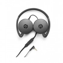 HP H2800 Black Headset with In-Line Mic