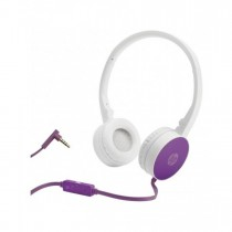 HP H2800 Purple Headset with In-Line Mic