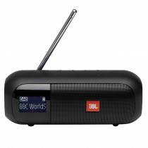 JBL Tuner 2 Black Portable Bluetooth Speaker with DAB/FM Radio