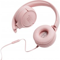TUNE 500 PINK WIRED ON-EAR HEADPHONES JBL