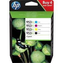 HP Ink cartridge 953XL Original Set Black, Cyan, Magenta, Yellow 3HZ52AE Ink cartridges combo pack