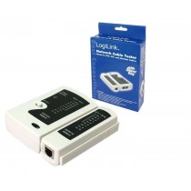 Cable tester RJ11, RJ12, RJ45 with remote unit