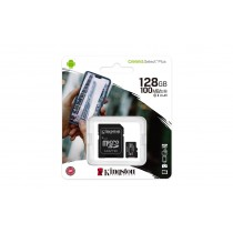 Kingston 128GB microSDXC Canvas Select Plus 100MB microSD SD UHS U1 V10 A1