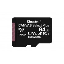 MicroSD Kingston Canvas Select Plus 64GB UHS-100MB/s