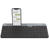LOGITECH K580 SLIM MULTI-DEVICE WIRELESS KEYBOARD BLACK