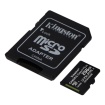 Kingston 256GB Canvas Select Plus UHS-I Micro SDXC Class 10 Memory Card