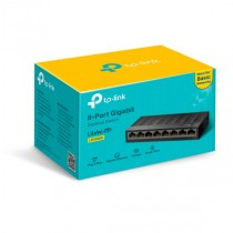 8-Port 10/100/1000Mbps Desktop Switch LS1008G
