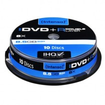 Intenso DVD+R 8.5GB Double Layer 8x Speed